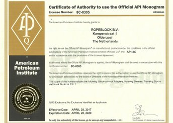Ropeblock is now API licensed