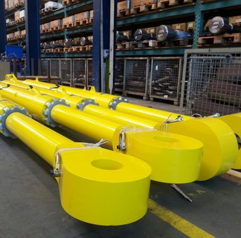 Topside transport seafastening turnbuckles, MBL 1500 mT