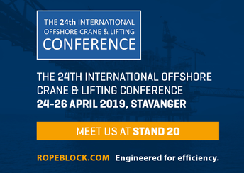 The 24th International Offshore Crane & Lifting Conference, Stavanger
